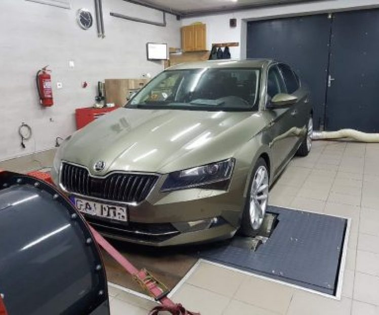 ŠKODA SUPERB 3 2.0TDI